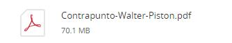 Contrapunto - Walter Piston