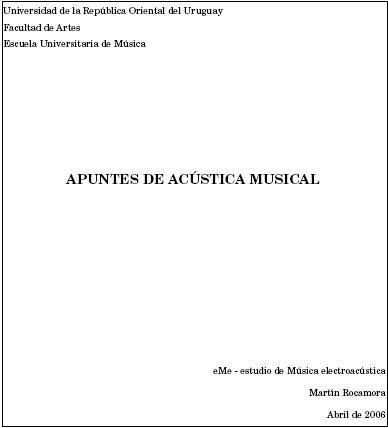 Juan Roederer Acustica Psicoacustica Pdf